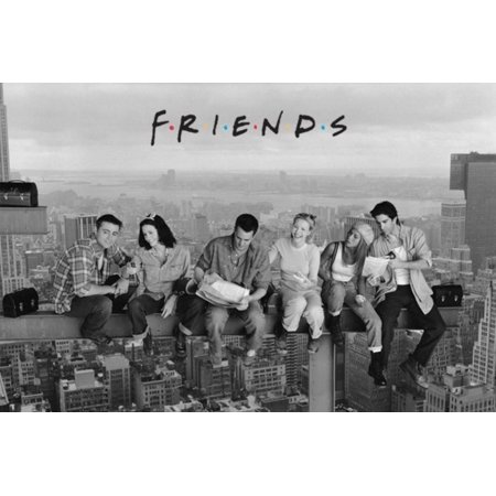 Friends - Lunch on a Skyscraper - Official Poster, Size in cm: 61 x 91.5 By