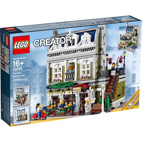 LEGO Creator Parisian Restaurant Play Set