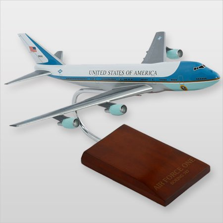 VC-25A Air Force One Desktop Wood (Air Force Wood)