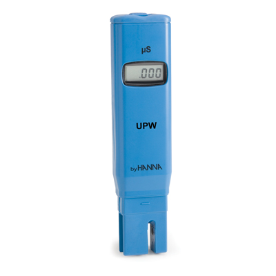 """Hanna (HI98309) Pure H2O """"UPW"""" Conductivity Meter 0.0 to 1.999 S cm by Hanna"""