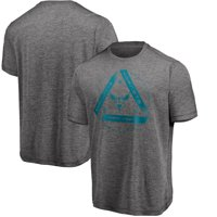 Charlotte Hornets Majestic We Win You Lose Showtime T-Shirt - Heather Charcoal