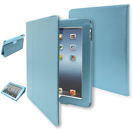 iPad 1 Case, Bastex Folio Synthetic Leather Case Cover with Built-in Stand for Apple iPad 1 1st Generation - Baby
