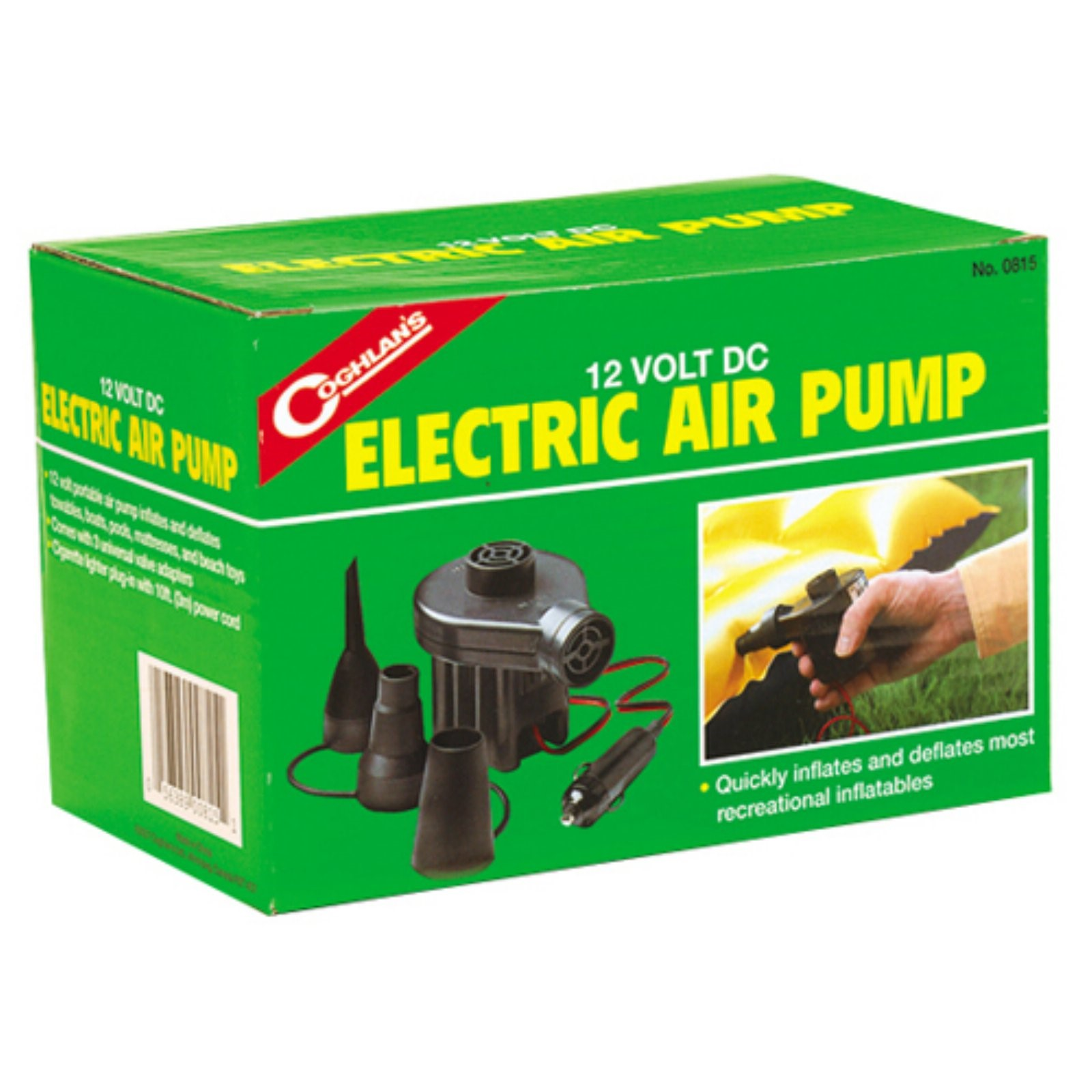 Coghlans 12V DC Electric Air Pump by Coghlans