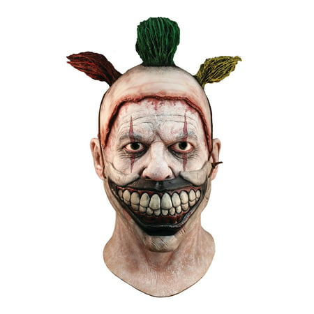 Trick Or Treat Studios American Horror Story: Twisty Deluxe Halloween Costume Mask - Horror Movie Masks Halloween