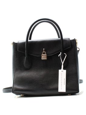 fa4f2080f7fd Product Image Michael Kors NEW Black Pebble Leather Mercer All In One Tote  Bag Purse