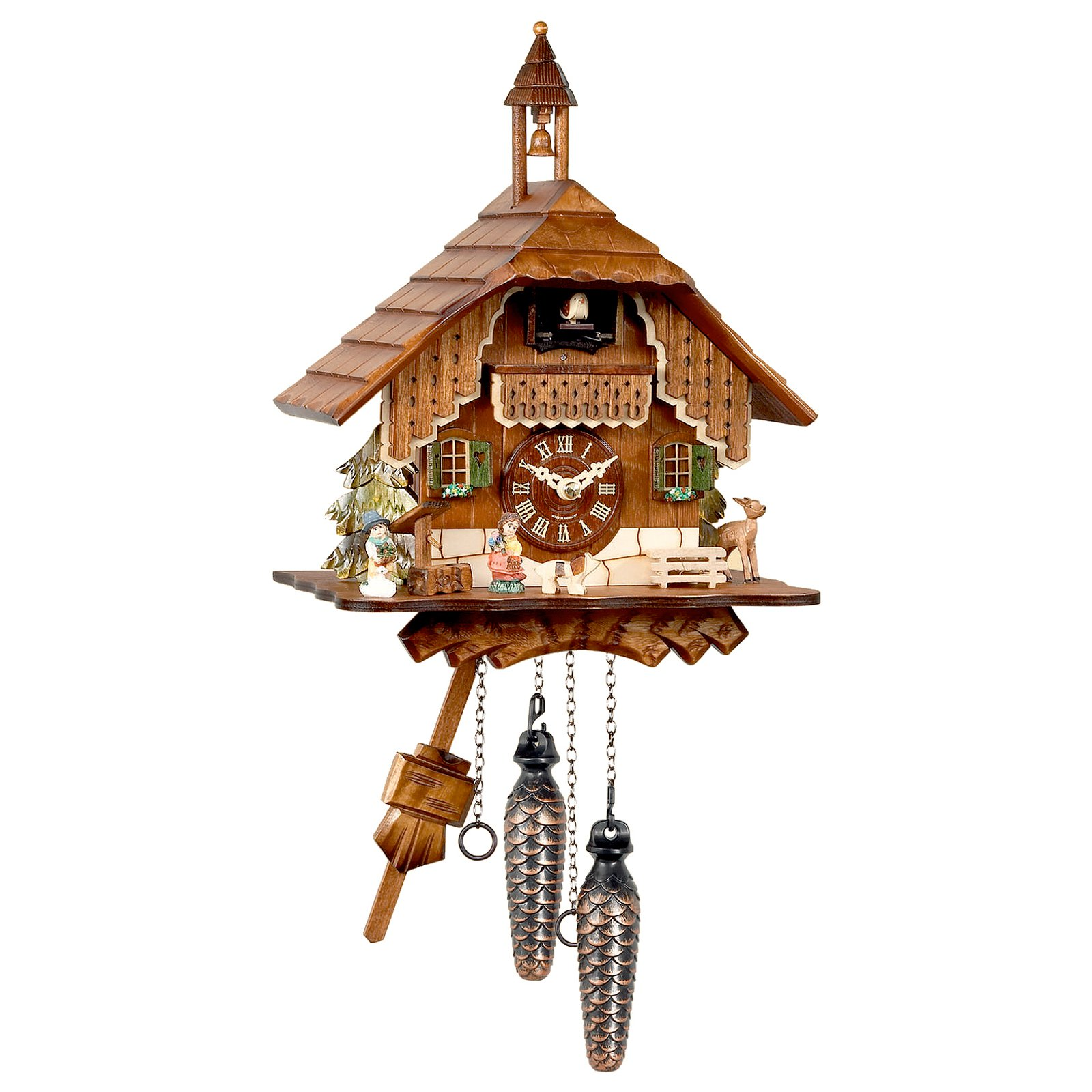 Black Forest Bell Tower Cuckoo Clock by Alexander Taron Importer