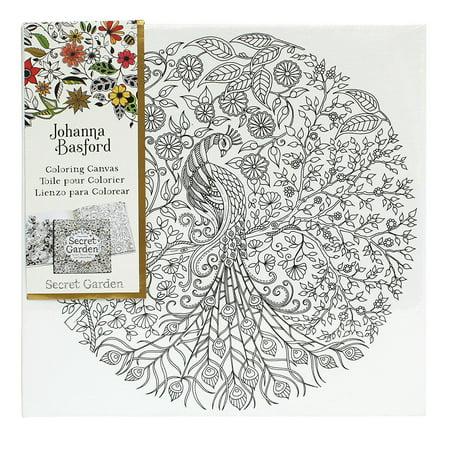 Johanna Basford Secret Garden Coloring Canvas