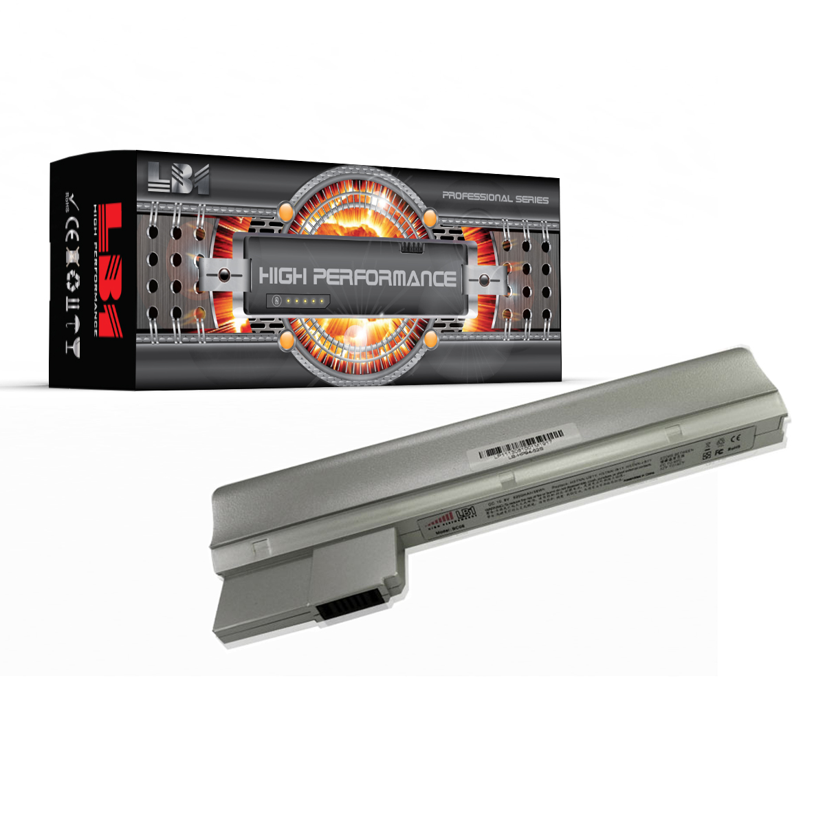 New Laptop battery for HP Mini 210-2012eo for Notebook HP Mini 210-2012eo for Computer HP Mini 210-2012eo [5200mAh 6Cells 10.8V]