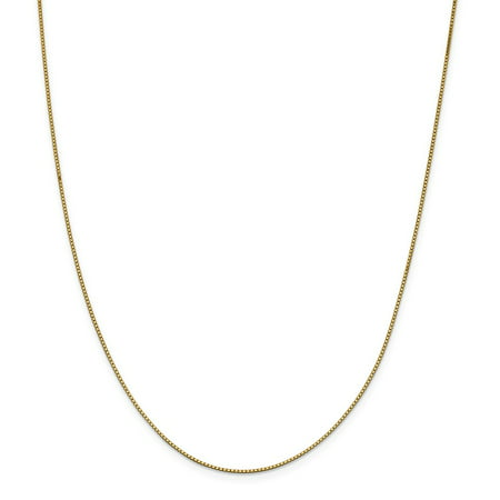 Roy Rose Jewelry 14K Yellow Gold .95mm Box Chain ~ length: 14 inches