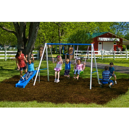 Flexible Flyer Fun Time Metal Swing Set–Walmart-Cash Back
