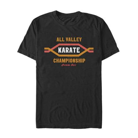 Cobra Kai Men's All Valley Karate Championship Logo - Cobra Kai Logo