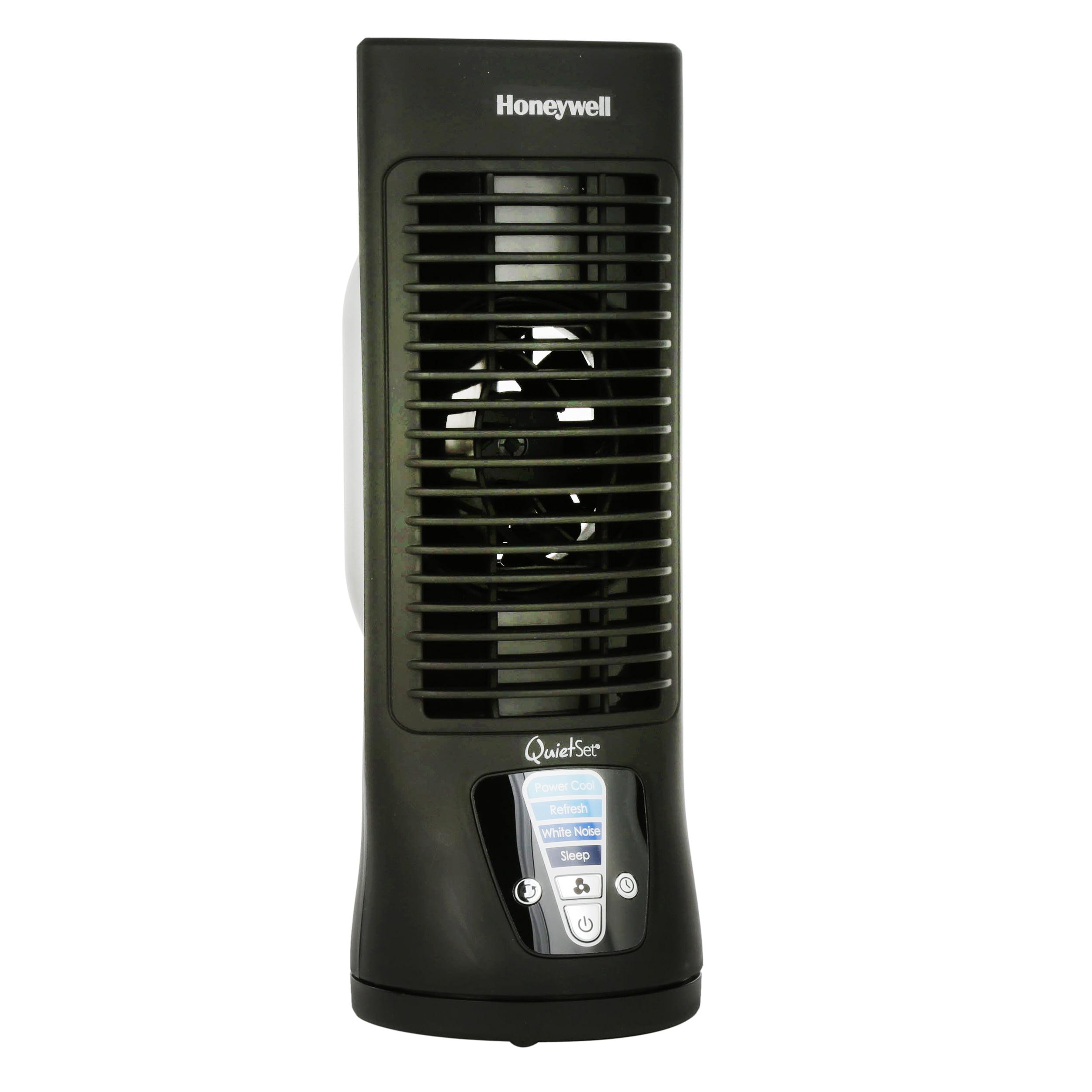 Honeywell QuietSet Slim Mini Tower Fan, HTF210B, Black