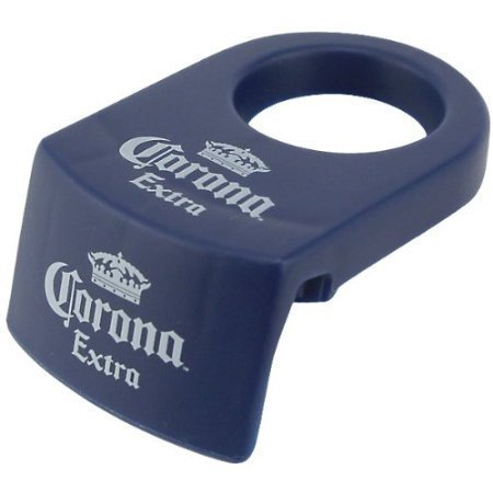 Free Bonus Bottle - Coronita Rita Bottle Holders Set of 12 Blue Version Includes Bonus Free Corona Extra Bottle Opener
