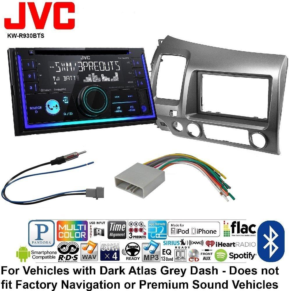 JVC KW-R930BTS Double 2 DIN CD/MP3 Player iHeart Radio SiriusXM ...