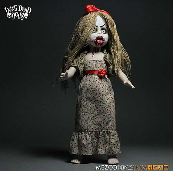 Living Dead Dolls Series 30 Freakshow Lucy the Geek 10.5 Doll