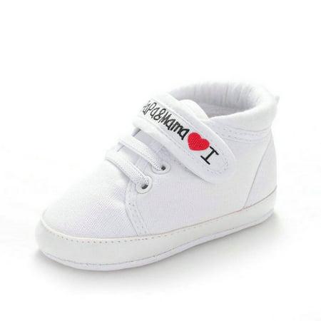 8eafc36f6aa Lavaport - Lavaport Kids Boys Girls Soft Sole Crib Casual Canvas Sneaker  Sports Shoes 0-18M - Walmart.com