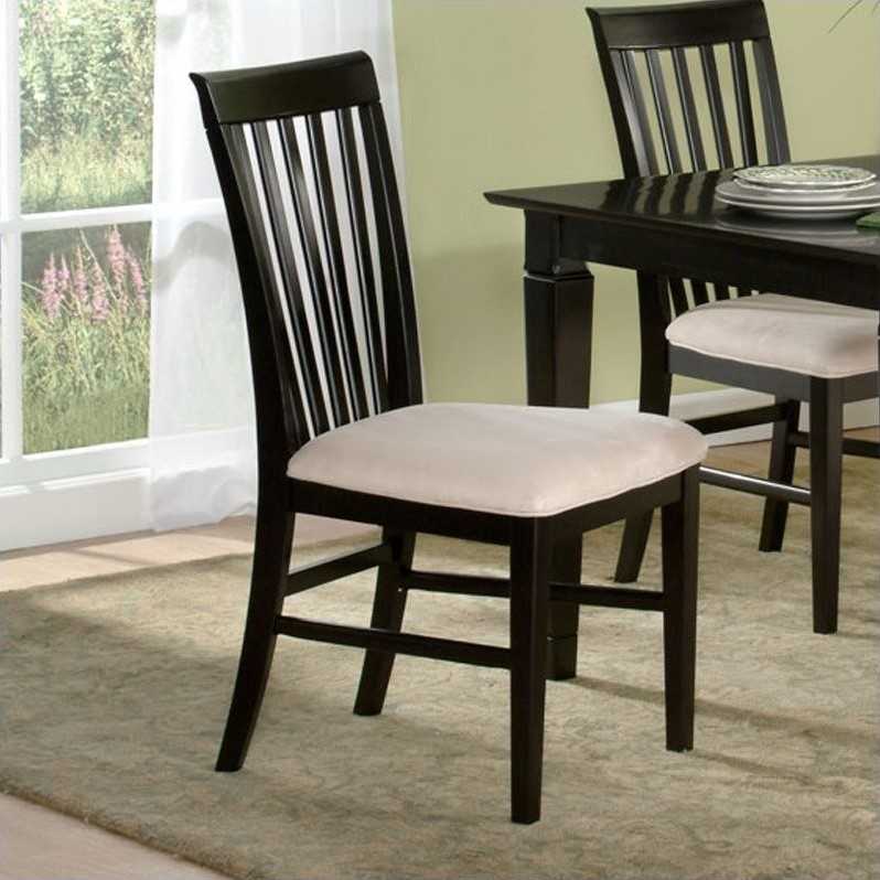 Atlantic Furniture Mission  Dining Chair in Espresso (Set...