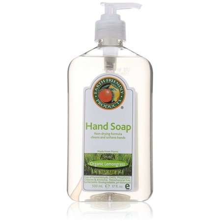 3 Pack - Earth Friendly Products Hand Soap, Lemongrass 17 -