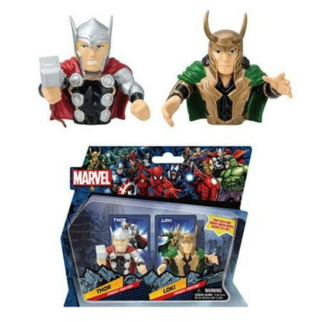 Marvel Thor Vs Loki Finger Fighters Action Figures (Ironman Vs Thor)