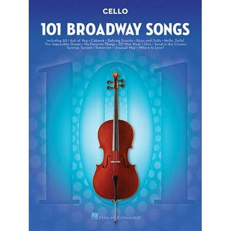 101 Broadway Songs for Cello - Halloween Songs For Cello