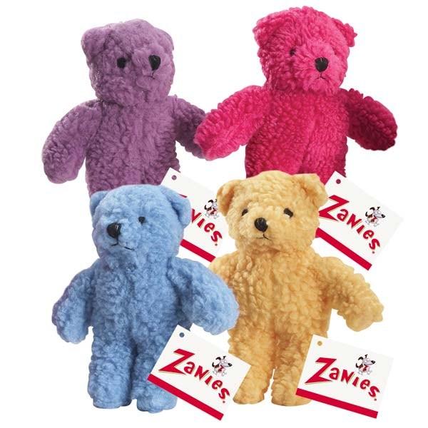 Zanies Berber Bear 8.5in Red
