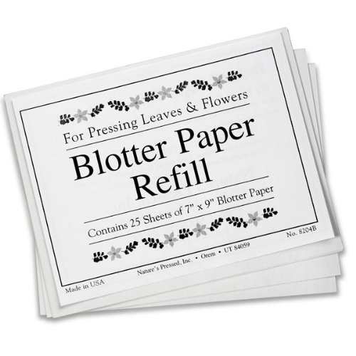 how to make blotter paper