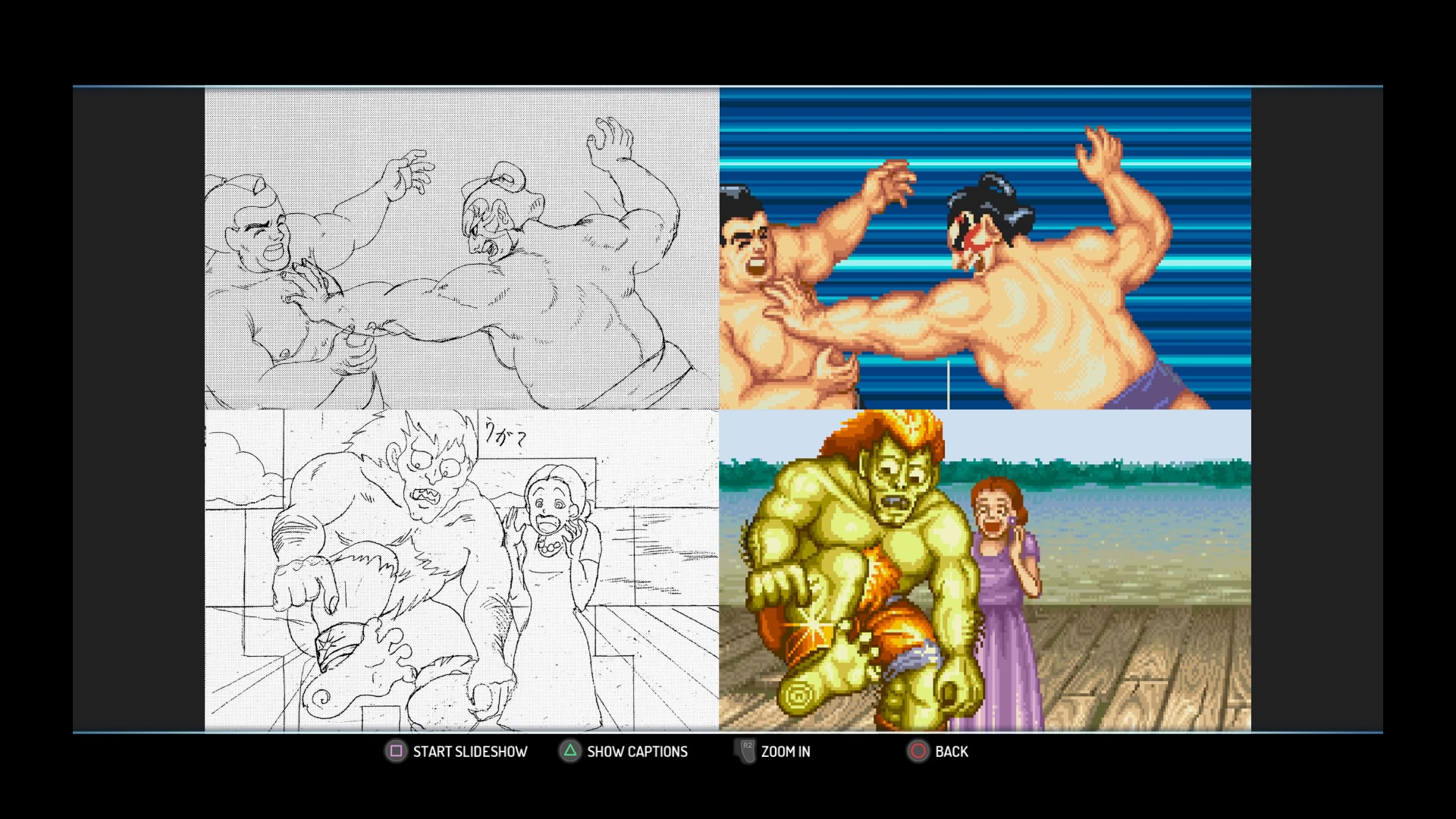 Street Fighter 30th Anniversary Collection museum