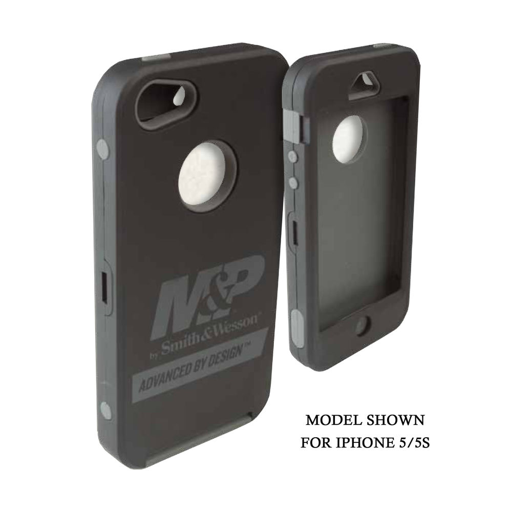 CELL PHONE CASE M&P GALAXY S4 BLK/GRY by Allen Company