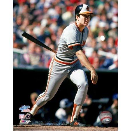 Cal Ripken Jr 1983 World Series Action Photo Print