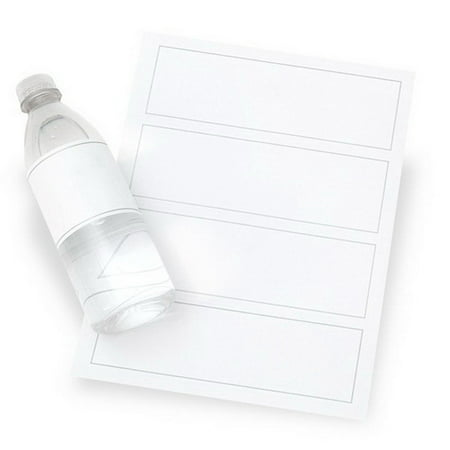 Gartner Studios 81243 Printable Water Bottle Labels