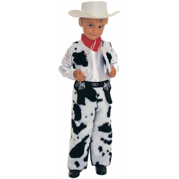 Toddler Cowboy Costume~Toddler 1T-2T / White