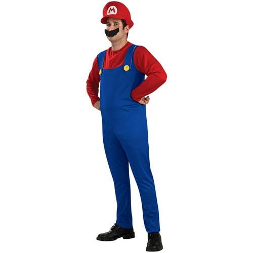 Super Mario Mario Adult Halloween Costume