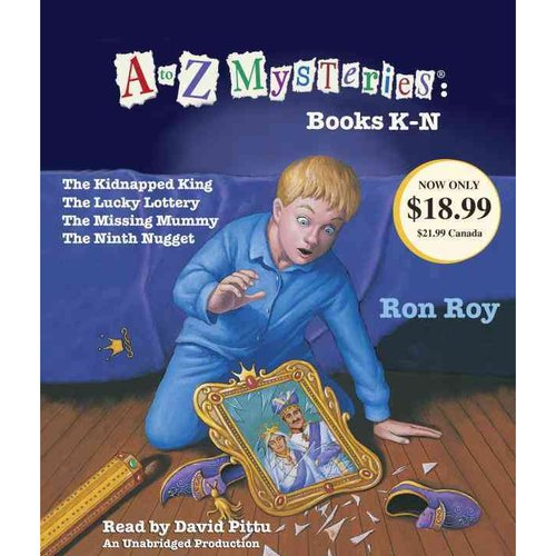 A to Z Mysteries: Books K-N: the Kidnapped King, The Lucky Lottery, The Missing Mummy, The Ninth Nugget