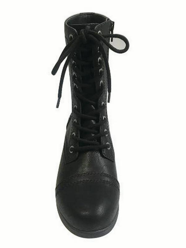 Time and Tru Women's Combat Boot by Generic