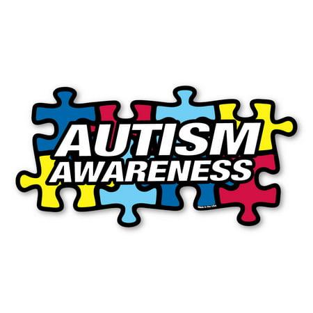 Autism Awareness Puzzle Piece Decal - Autism Stickers