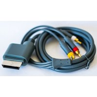 HD HDTV AV VGA Video Optical RCA Audio Cable Cord Wire for Xbox 360