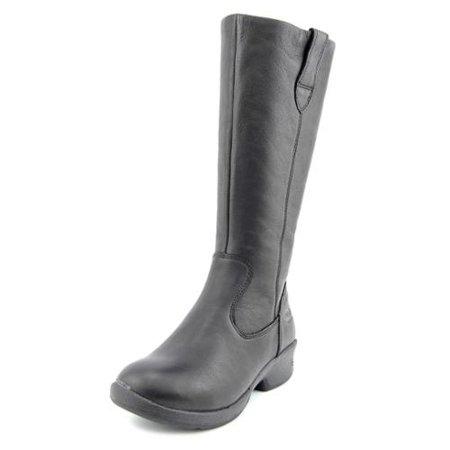 643081bf039b6 KEEN - Keen Tyretread WP Womens Size 6.5 Black Leather Fashion Knee ...
