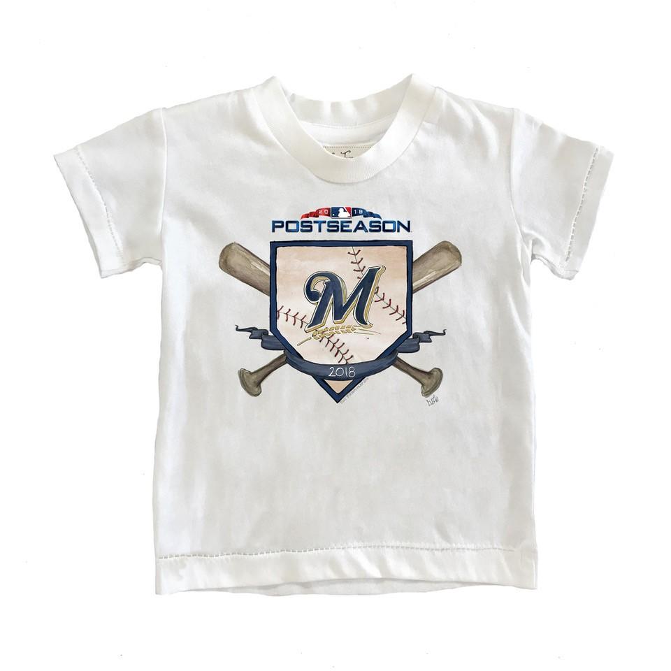 Oakland Athletics Tiny Turnip Youth 2018 Postseason T-Shirt - White