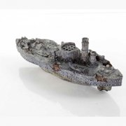 "BioBubble Decorative USS Monitor, 10.25"" x 3.25"" x 3.75"""