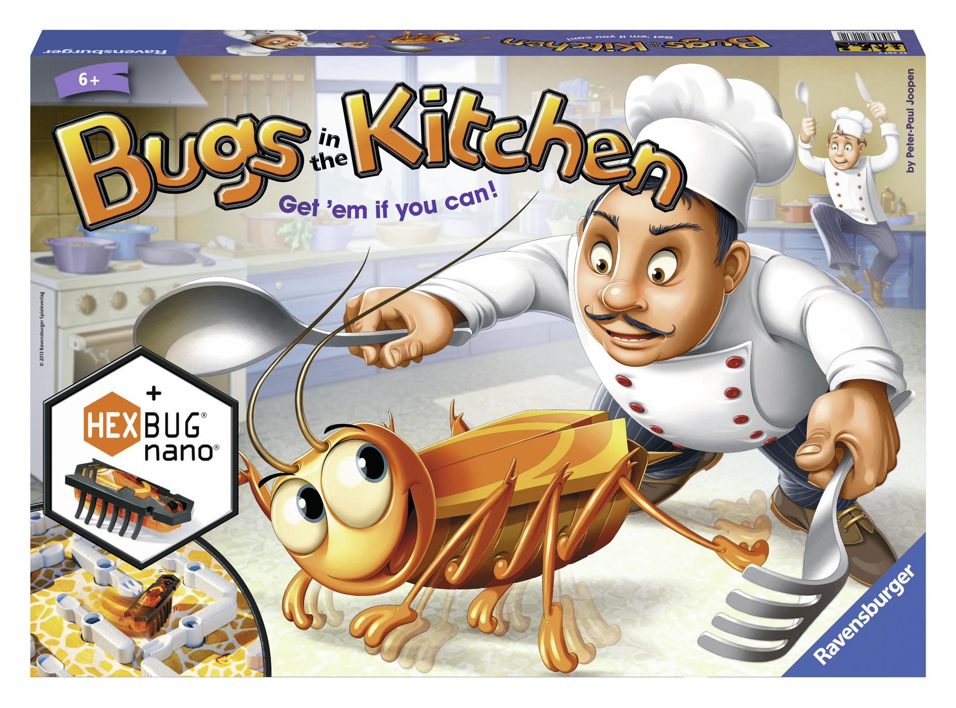 for the whole family Board game catch the Cockroach