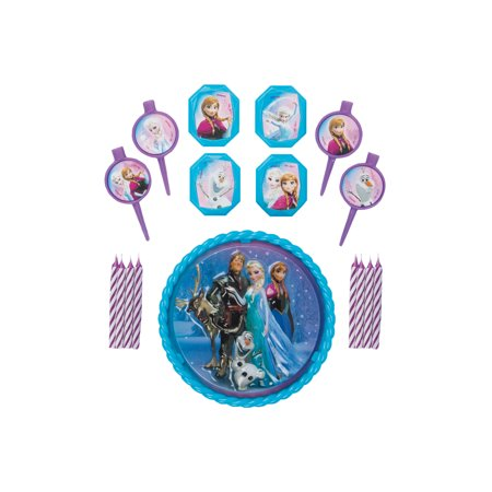 Frozen Cake Supplies (Disney Frozen Cake Decorating Kit,)