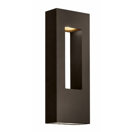 "Hinkley Lighting H1648 16"" Height 2-Light ADA Compliant Dark Sky Outdoor Wall Sconce from the Atlantis Collection"