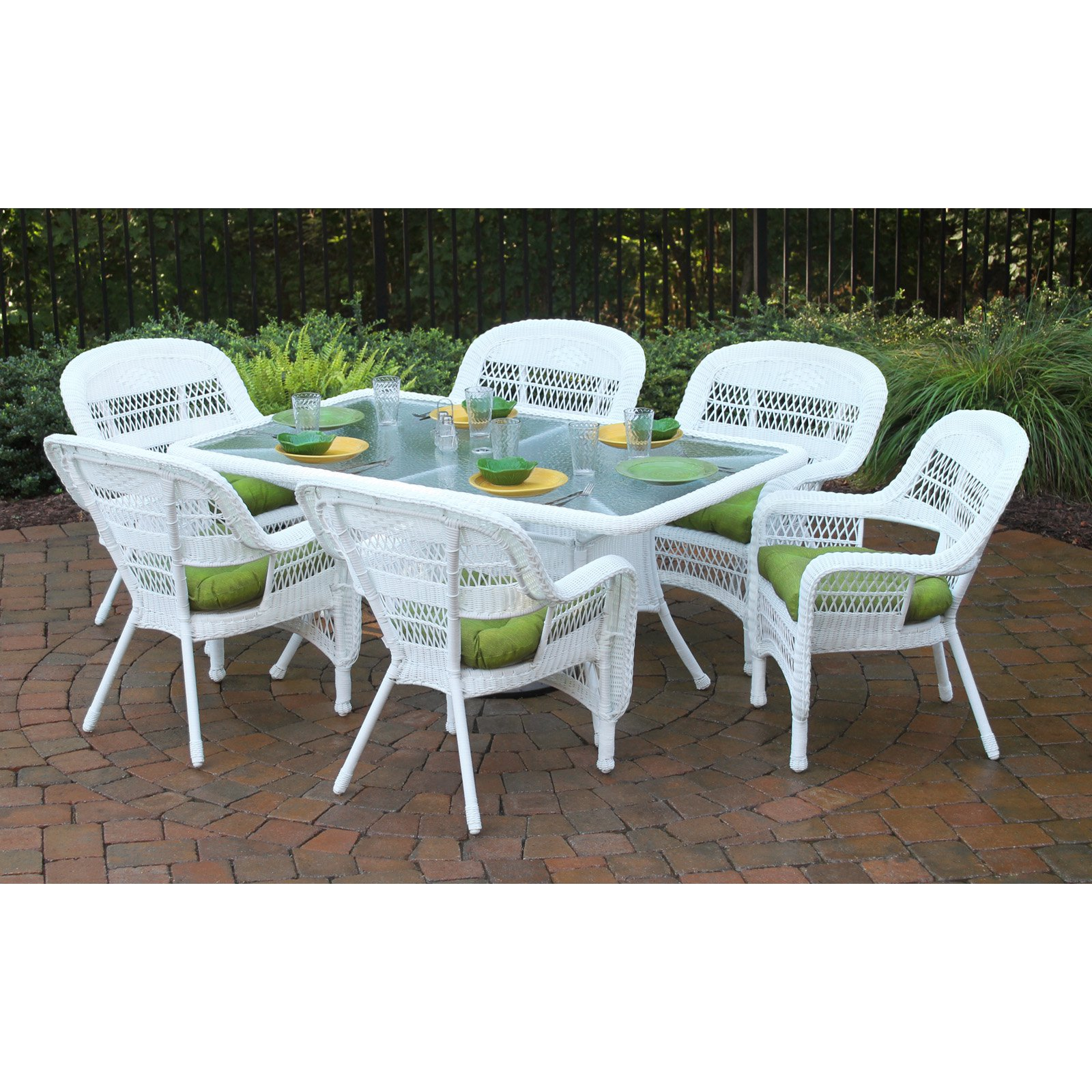Tortuga Outdoor Portside 7 Piece Dining Set