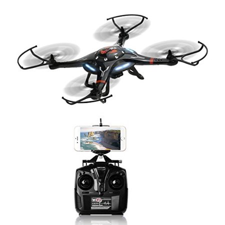 DroneMaster Drone with Camera HD Camera 360 Degree Super Wide Angle 6 Axis Gyro Wifi Phone Control RealTime Video Supported Cx-32w