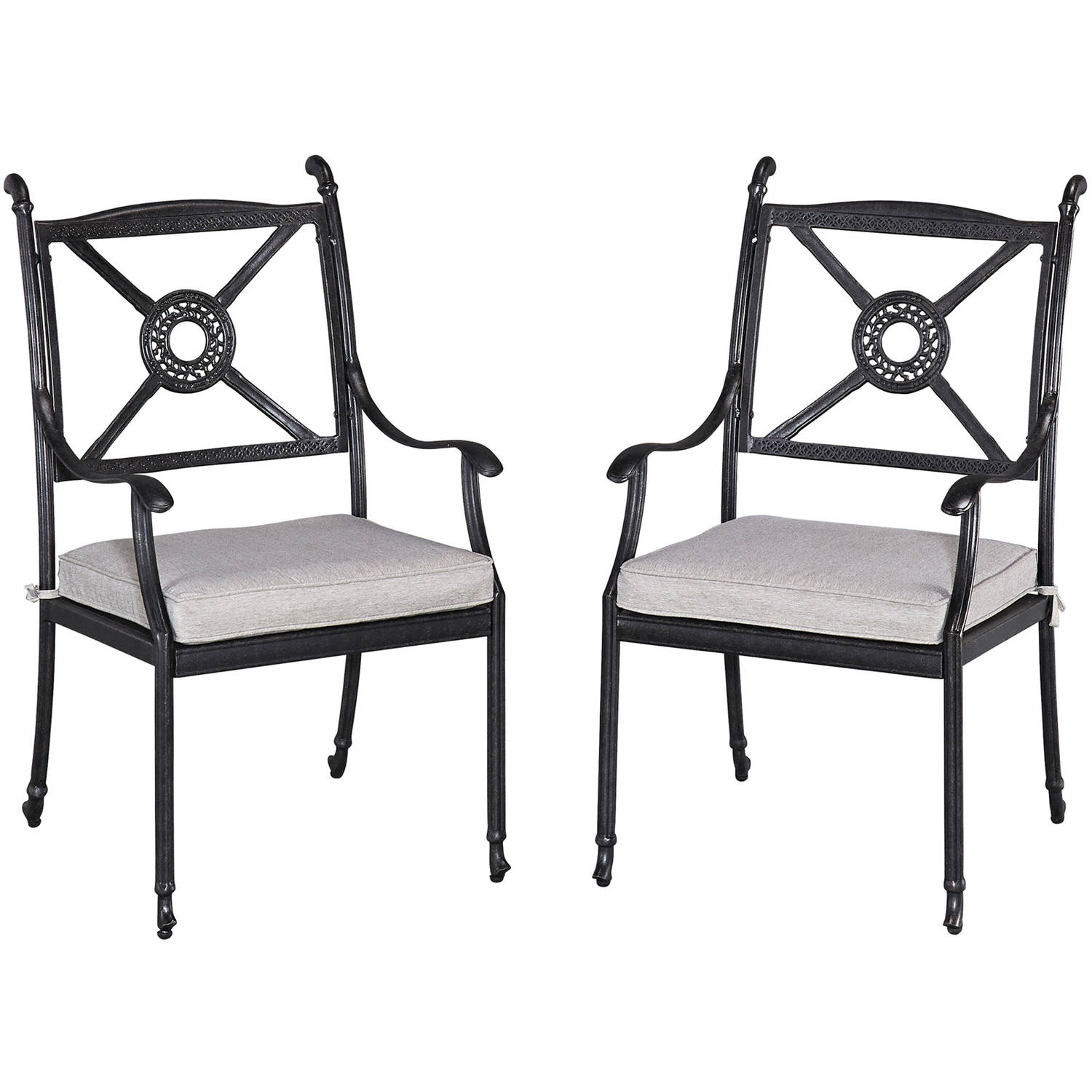Home Styles Athens Outdoor Set or Arm Chairs with Cushion