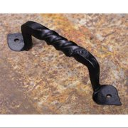 4.63 in. Hand Forged Iron Drawer Pull (Set of 10)