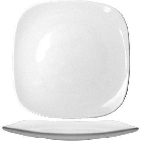 - ITI - QP-9 - 9 3/4 in Quad™ Square Fine Porcelain Plate
