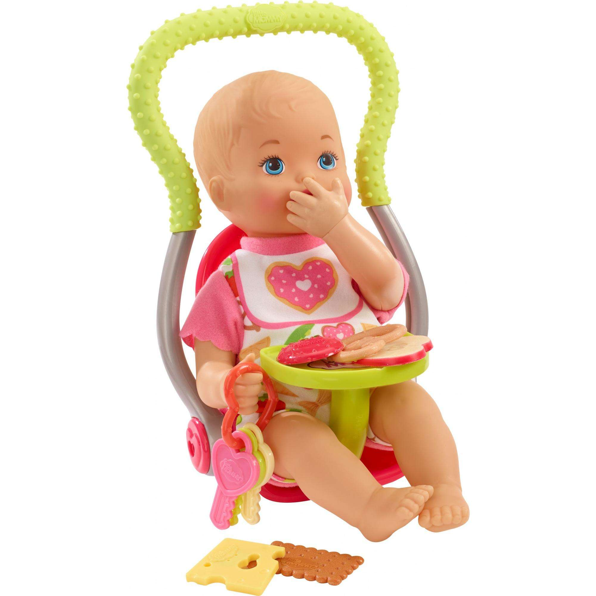 Little Mommy Happy Snacktime Baby Doll & Accessories