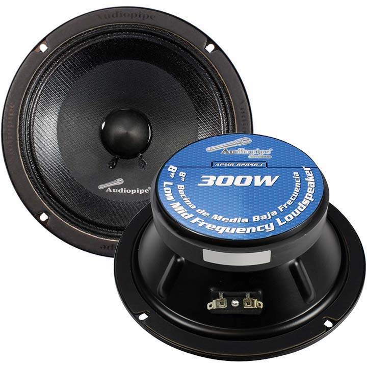 """Audiopipe 8"""" Mid Range Speaker (Sold each)"""