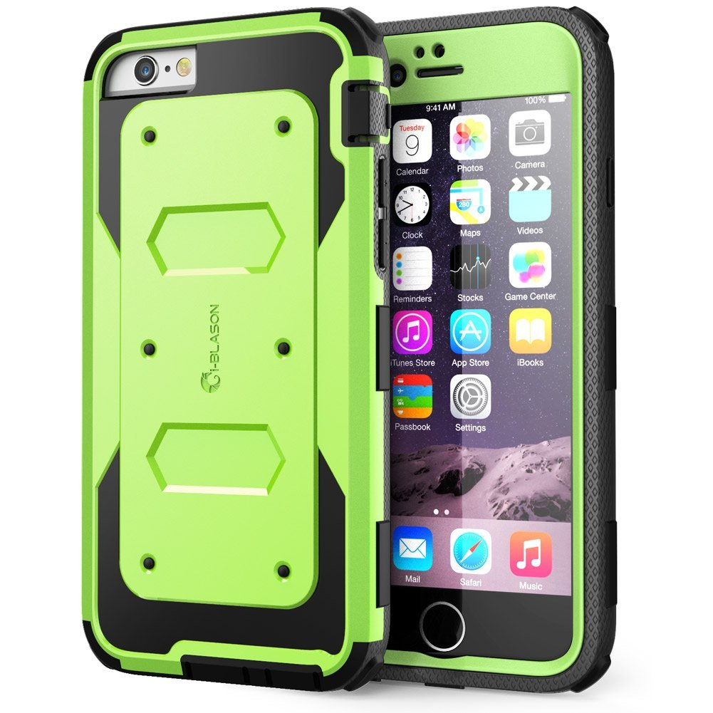 i-Blason Armorbox Series Dual-Layer Full Body Protection Case with Screen Protector for Apple iPhone 6 & 6S